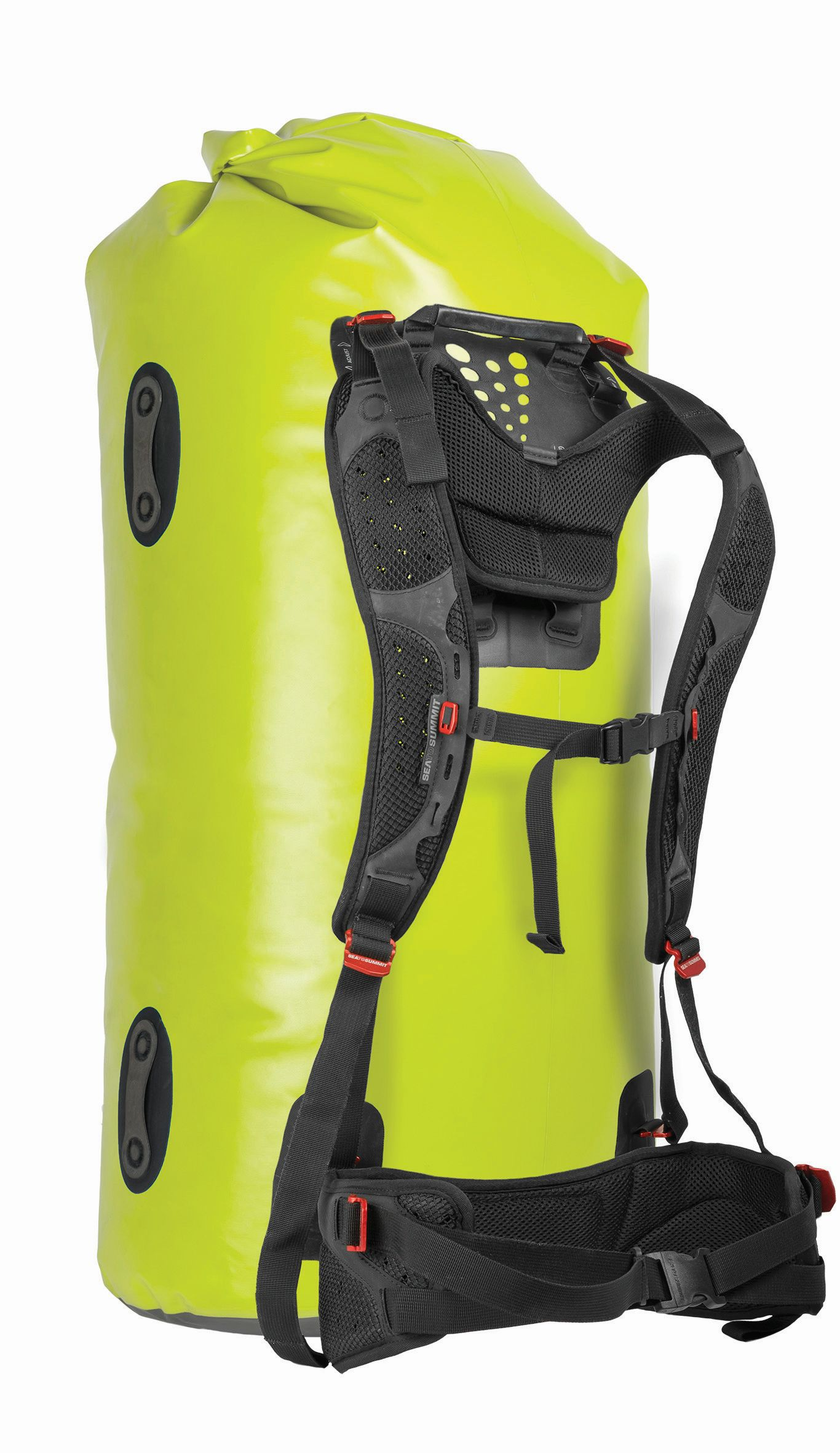 Sea To Summit Hydraulic Dry Bag with Harness 90L Green-30