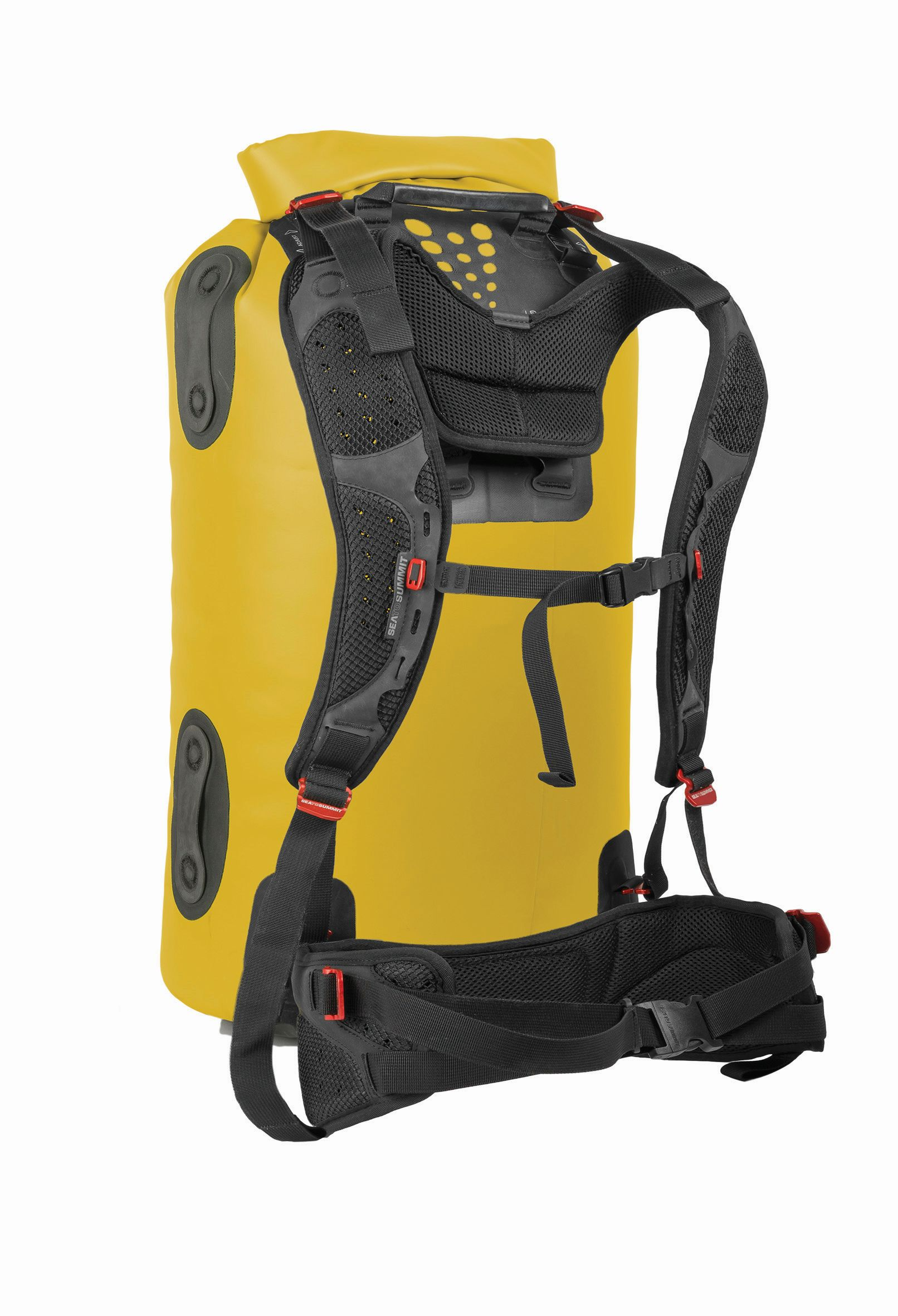 Sea To Summit Hydraulic Dry Bag with Harness 65L Yellow-30
