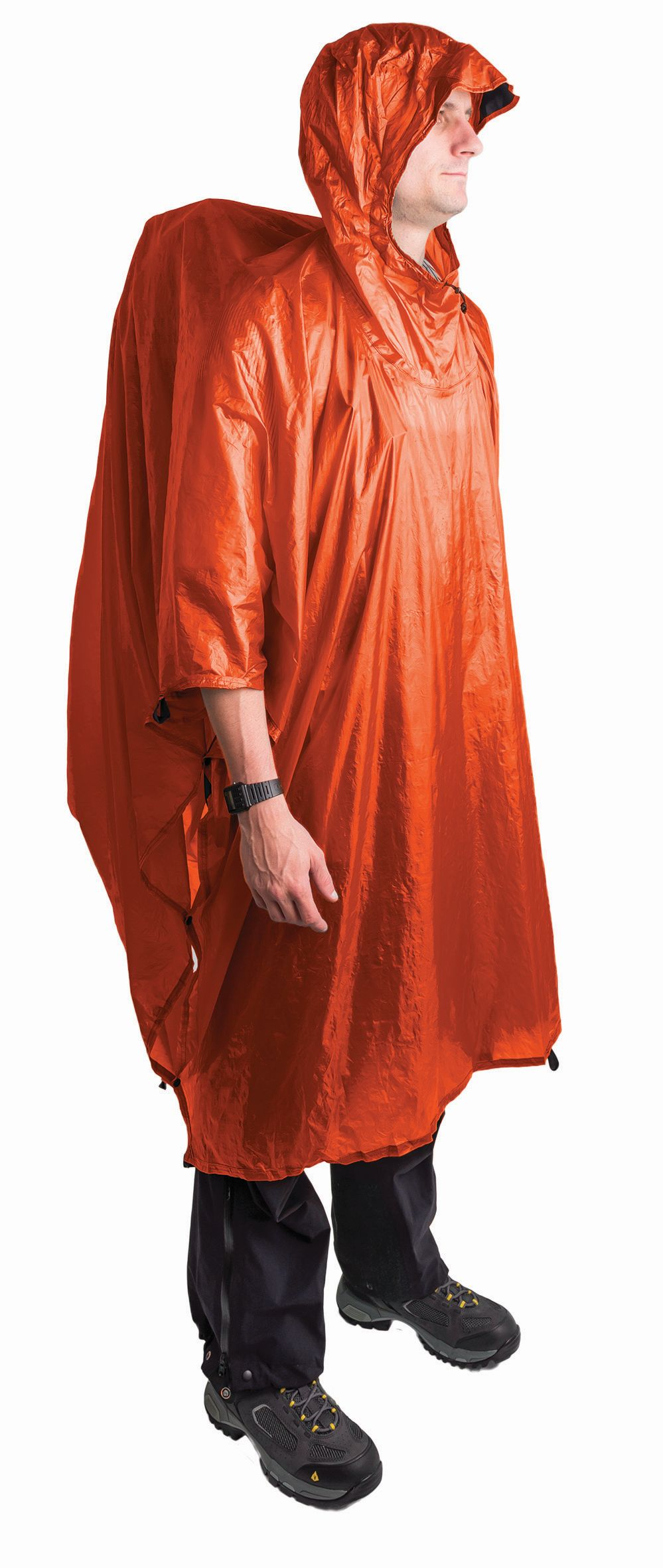 Sea To Summit Ultra-Sil™ Nano 15D Tarp-Poncho Orange-30
