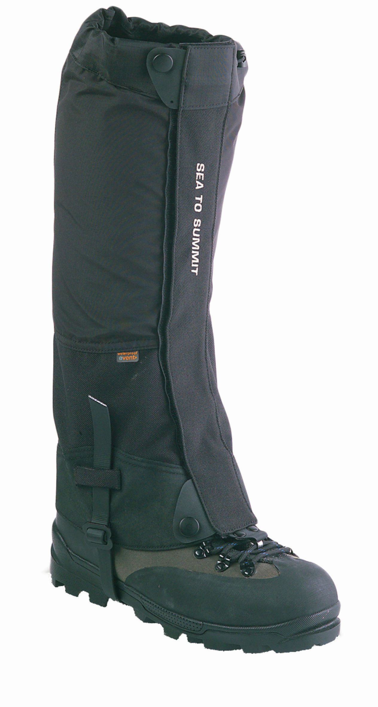 Sea To Summit Summit Gaiters Small Black-30