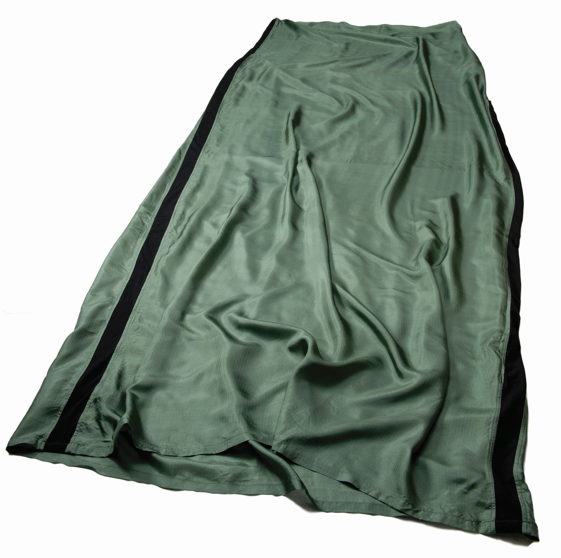 Sea To Summit Silk Stretch Liner Long (Rectangular) Eucalyptus Green-30
