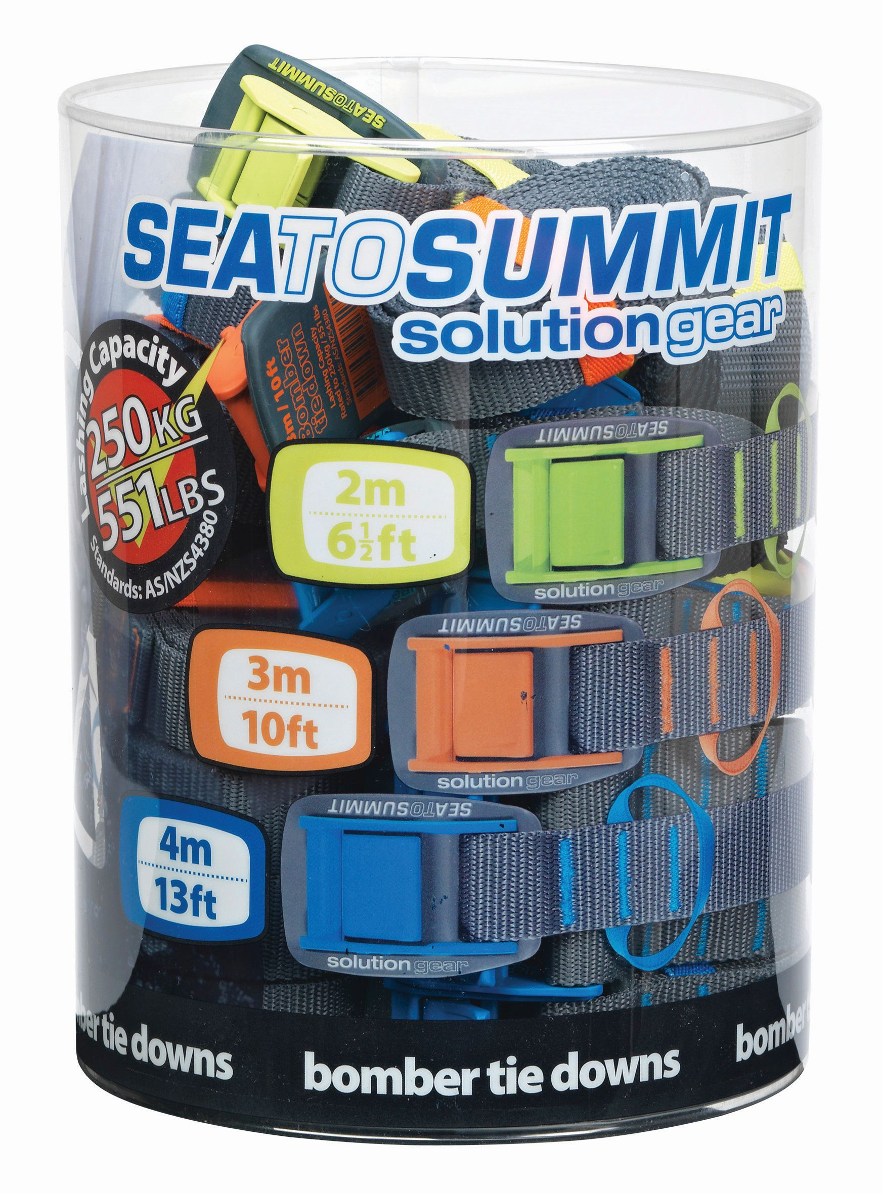 Sea To Summit Bomber Tie Down Retail Pack 6 units of each size-30
