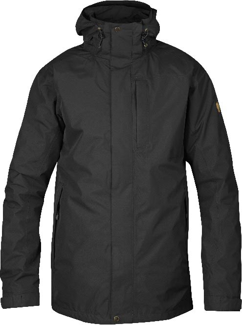 FjallRaven Stuga Jacket Black-30