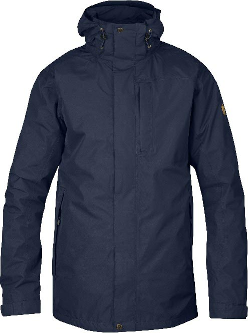 FjallRaven Stuga Jacket Dark Navy-30