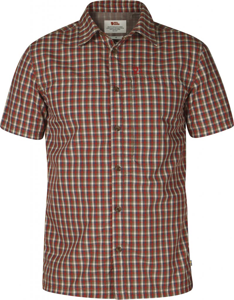 FjallRaven Svante Shirt Deep Red-30
