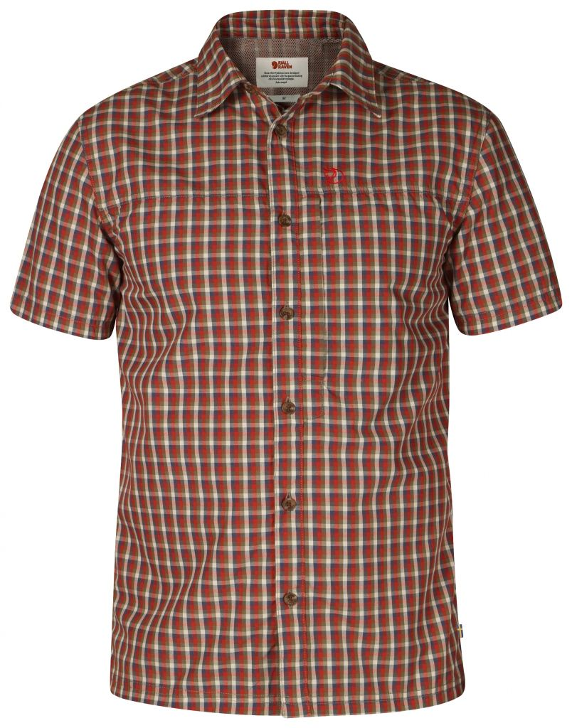 FjallRaven Svante Shirt SS Deep Red-30