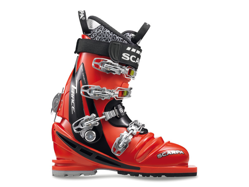 Scarpa T-Race Red/Black-30