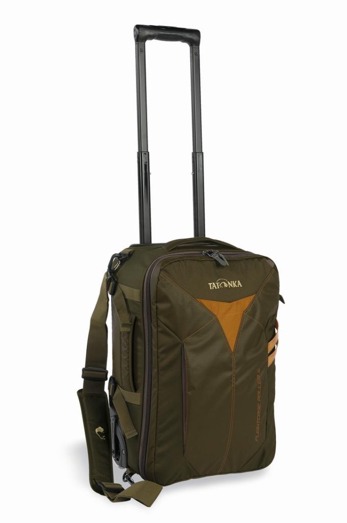 Tatonka Flightcase Roller S olive-30