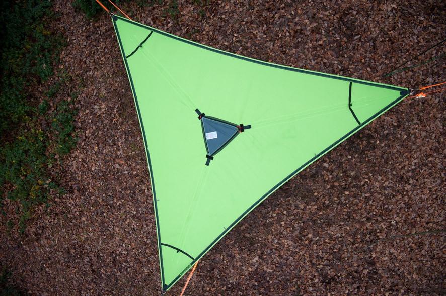 Tentsile Trillium Green Fabric-30