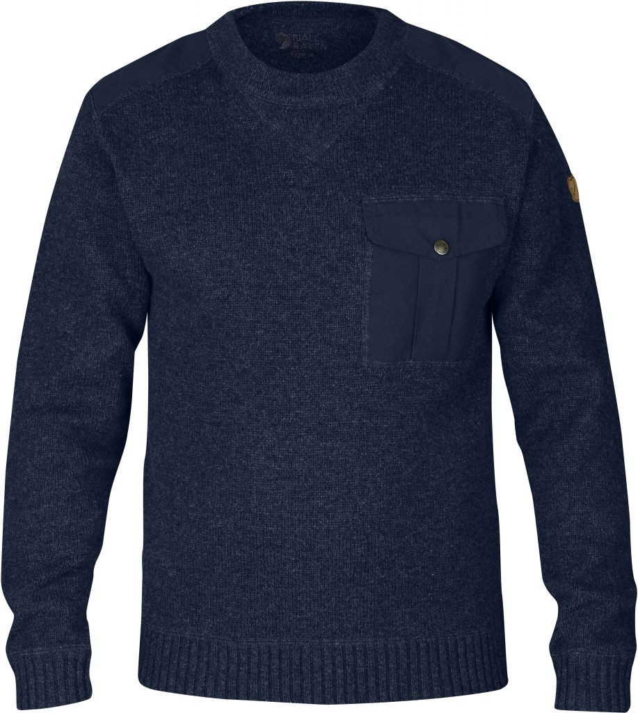 FjallRaven Torp Sweater Dark Navy-30