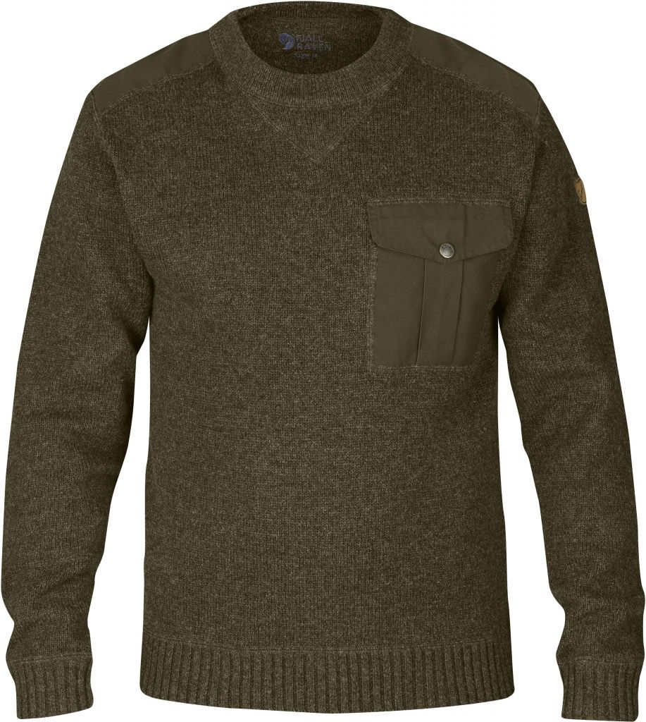 FjallRaven Torp Sweater Dark Olive-30