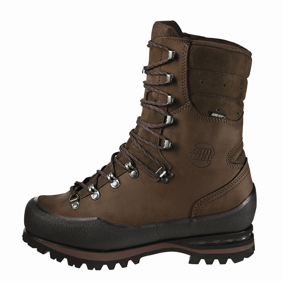 Hanwag Trapper Top GTX Brown-30