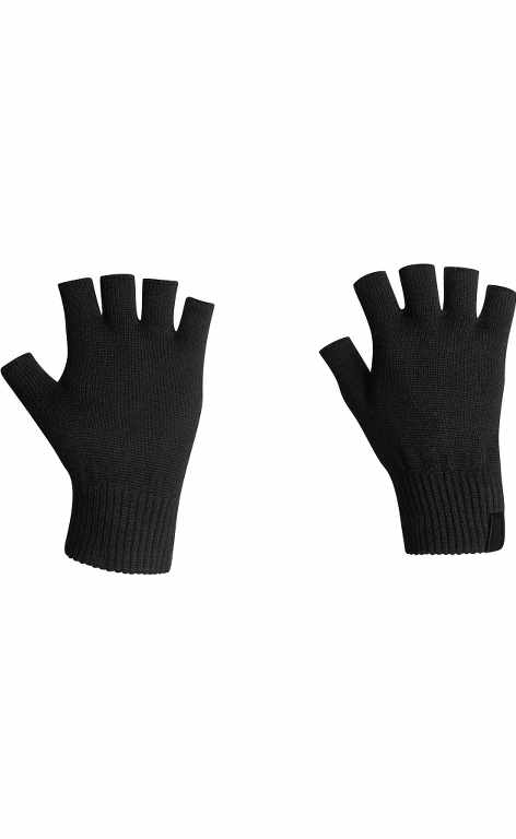 Icebreaker Highline Fingerless Gloves Black-30