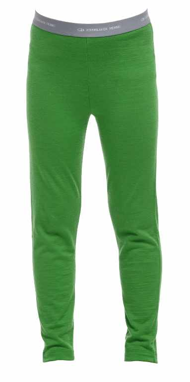 Icebreaker Kids Oasis Leggings Frond/White-30