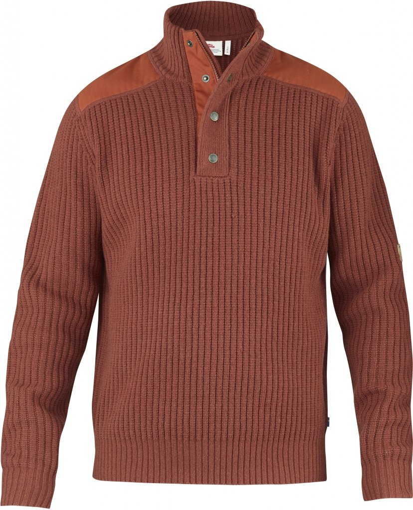 FjallRaven Varmland T-neck Sweater Autumn Leaf-30