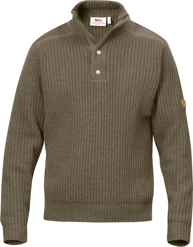 FjallRaven Varmland T-neck Sweater Taupe-30