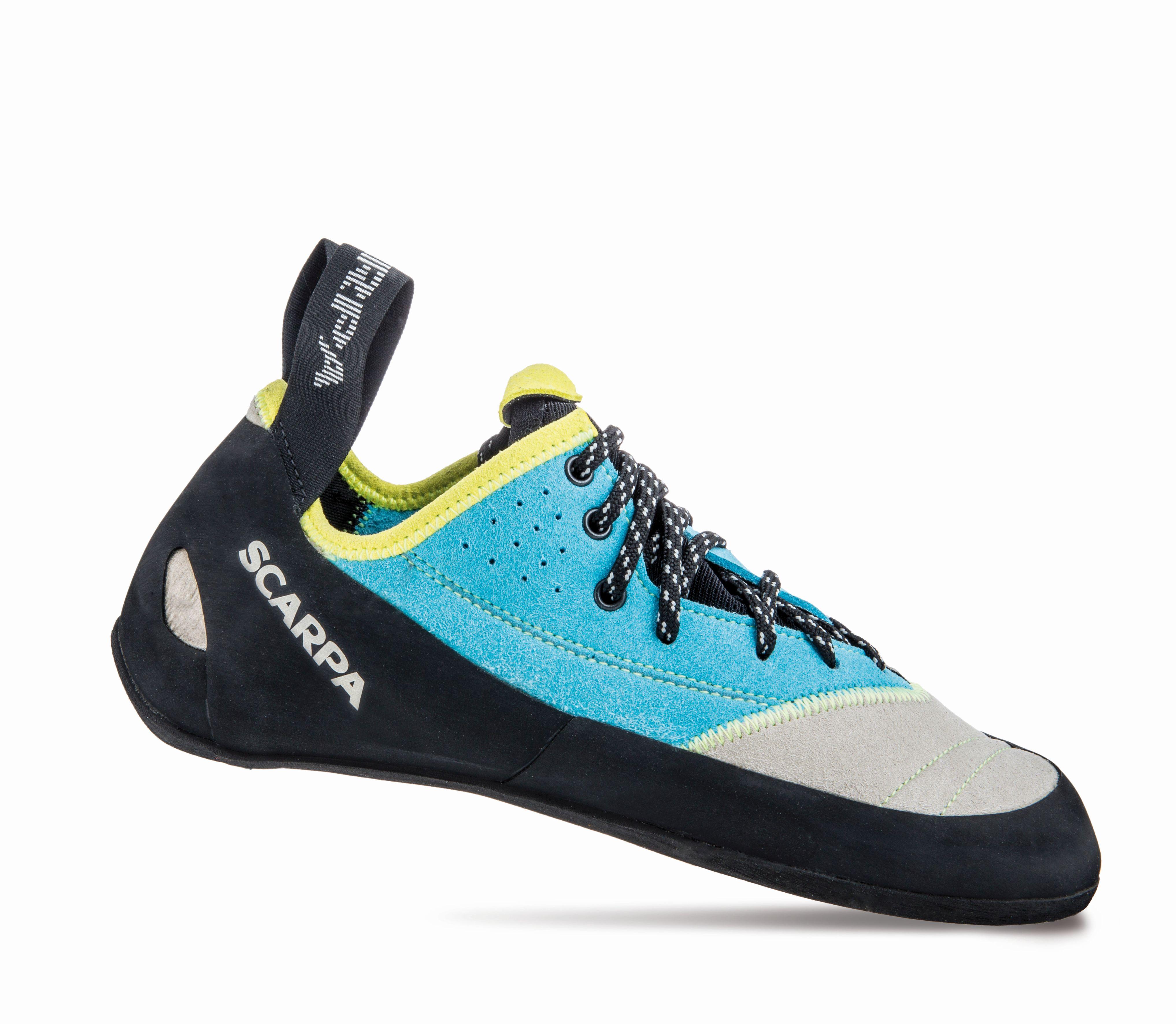 Scarpa Velocity L Wmn Lightgray/Truquoise-30