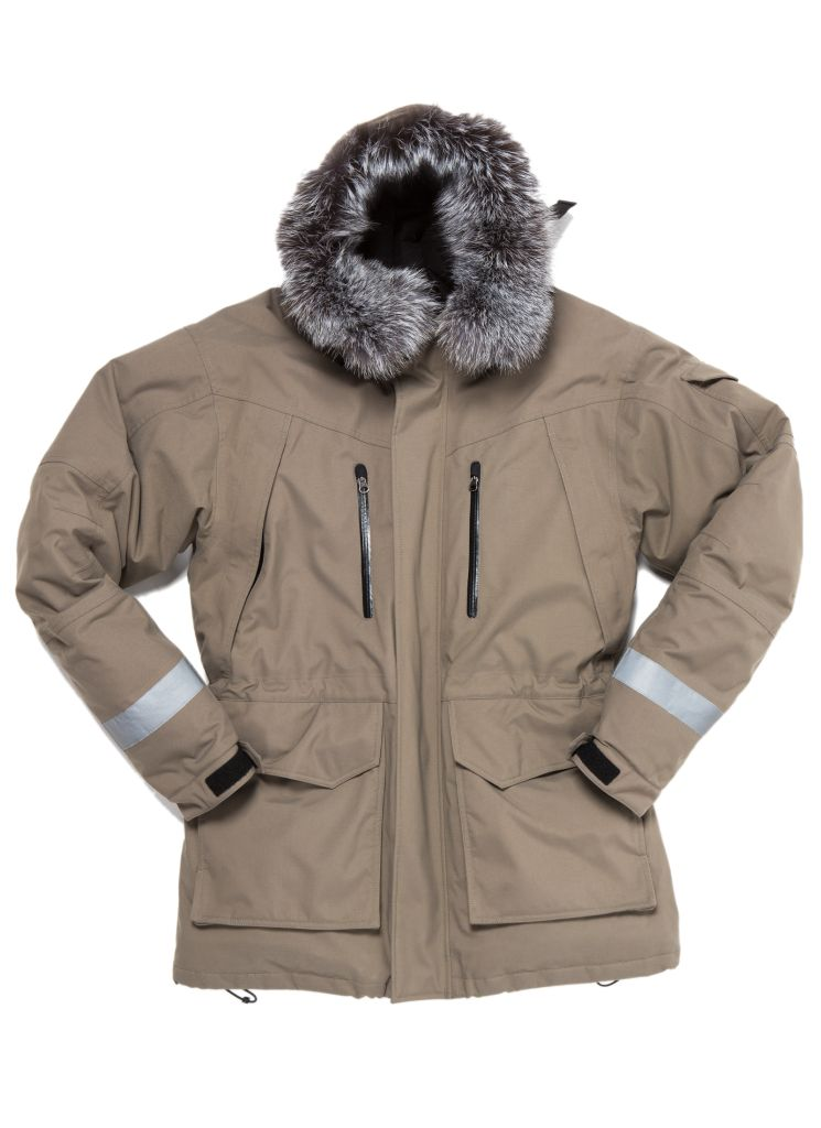 Jökla Parka Earth Grey-30