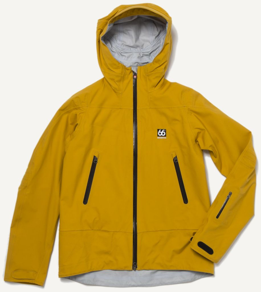 Snafell Jacket Retro Yellow-30