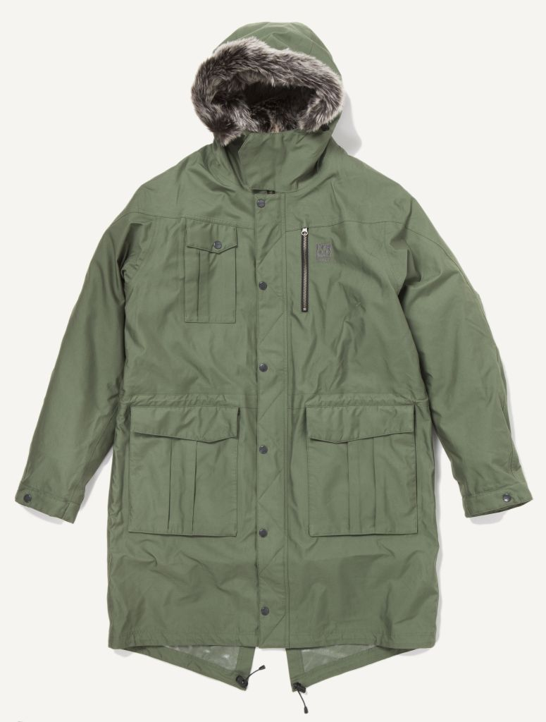 Esja Parka Long Edt. Olive-30