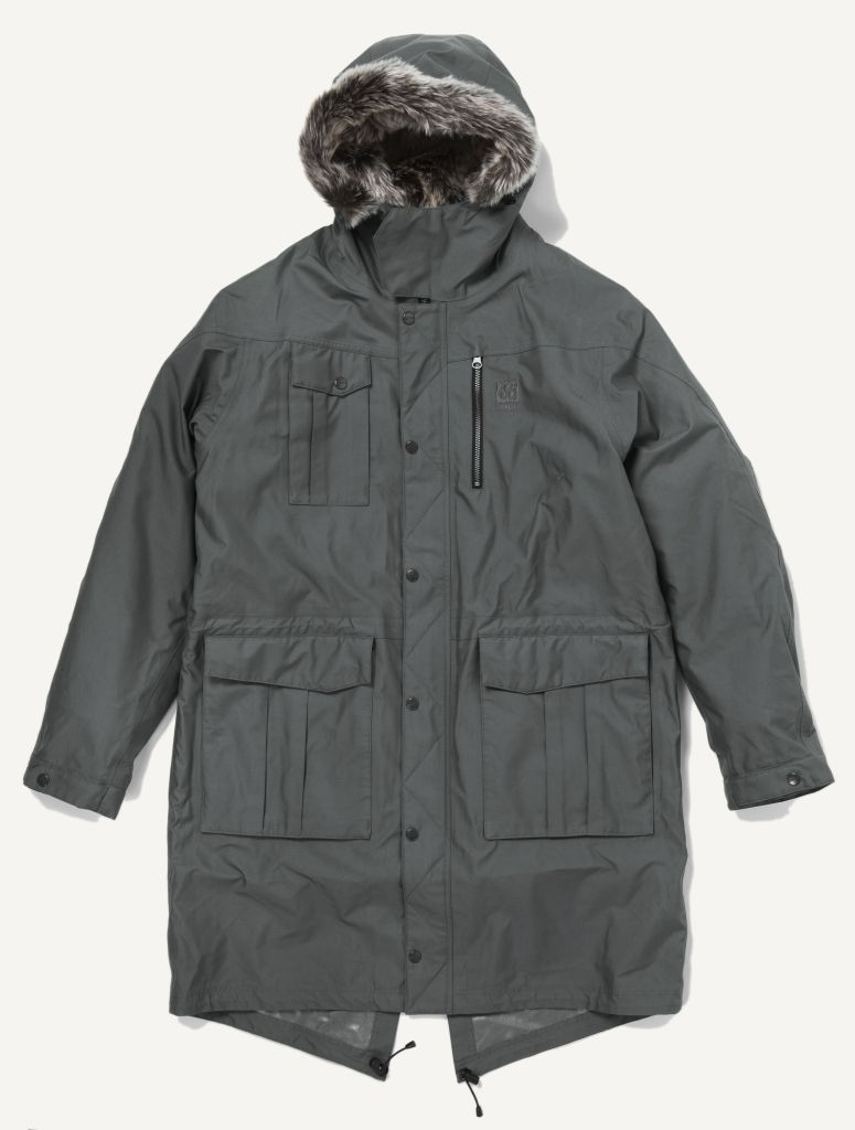Esja Parka Long Edt. Charcoal-30