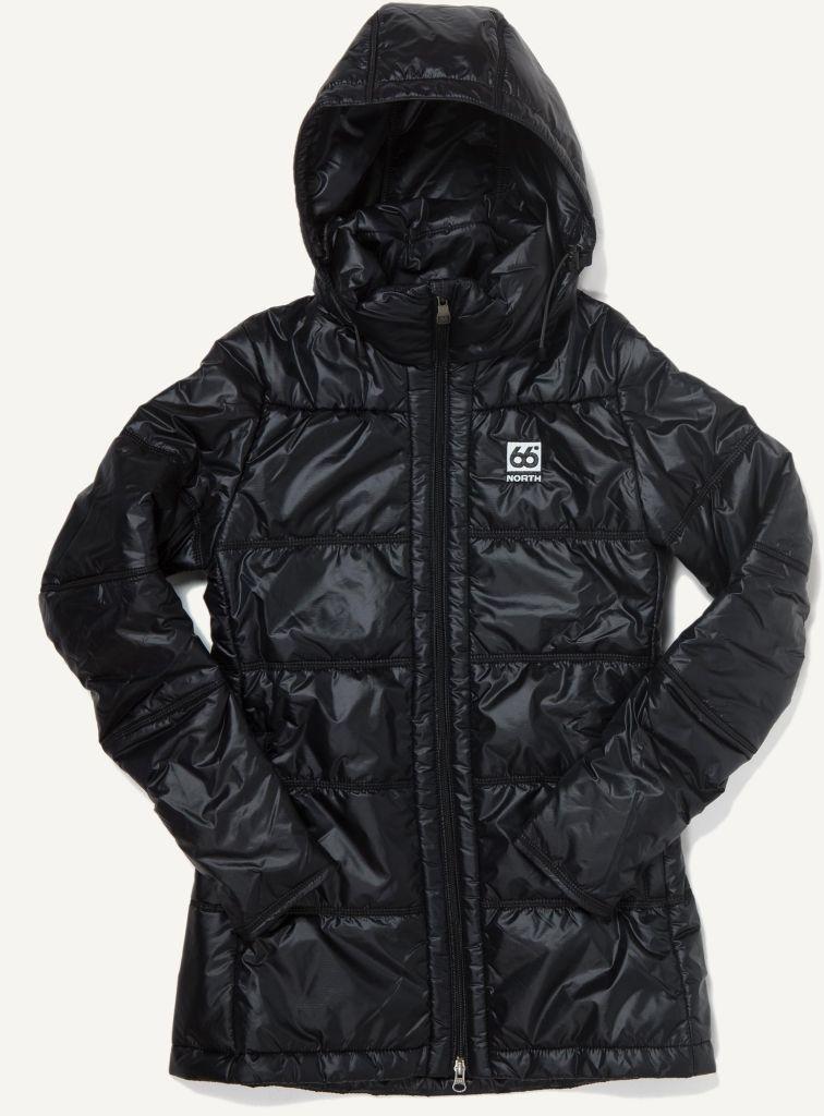 Langjökull Women´s Primaloft Coat Black-30