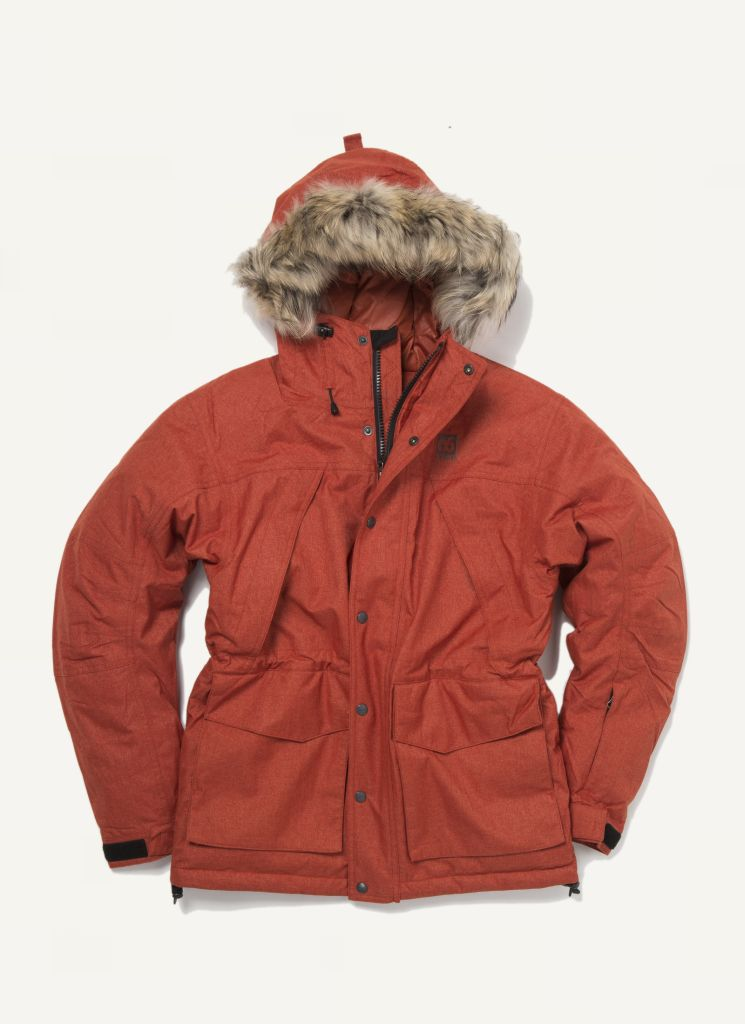 Thorsmork Parka Limited Edt. Rust-30
