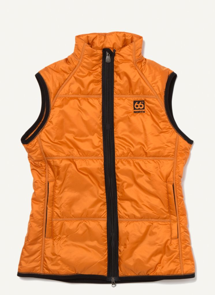 Vatnajökull Women´s Primaloft Vest Burnt Orange-30