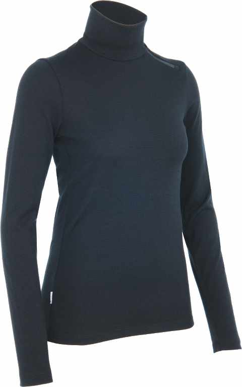 Icebreaker Tech LS Turtleneck Black-30