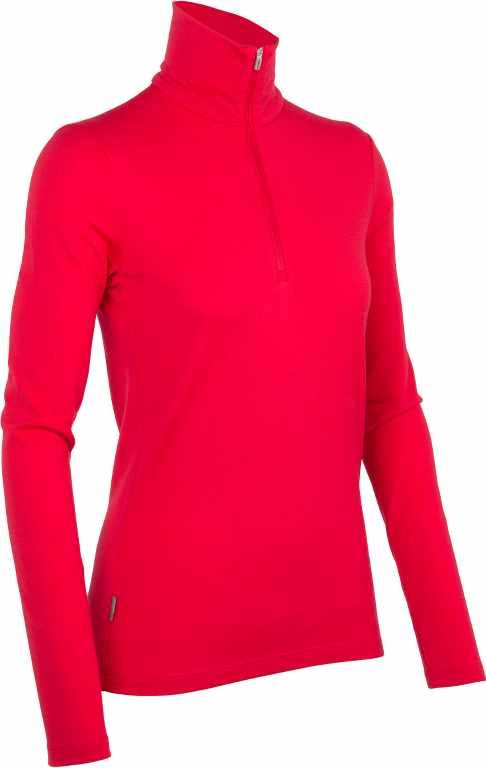 Icebreaker Tech Top LS Half Zip Garnet-30