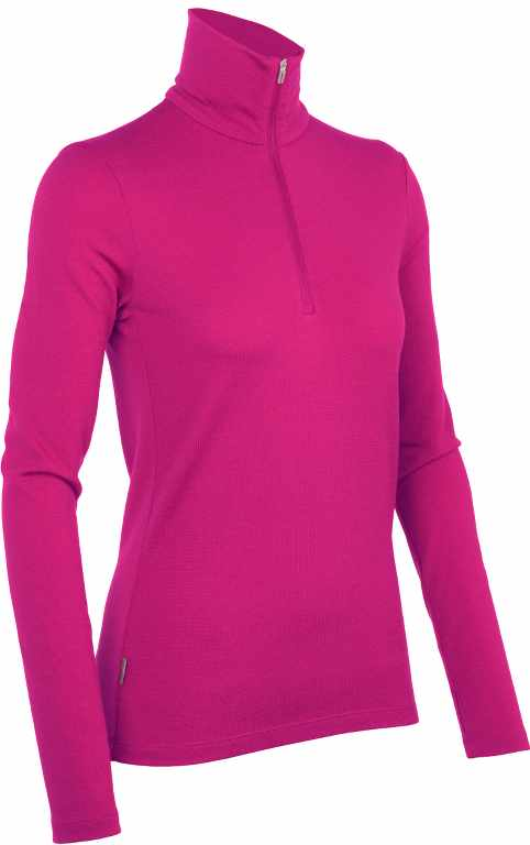 Icebreaker Tech Top LS Half Zip Magenta-30