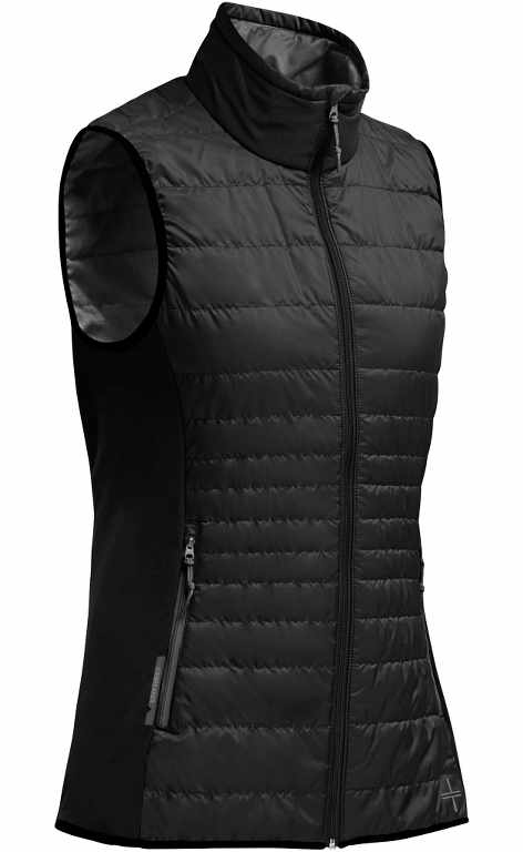 Icebreaker Helix Vest Black/Monsoon/Monsoon-30