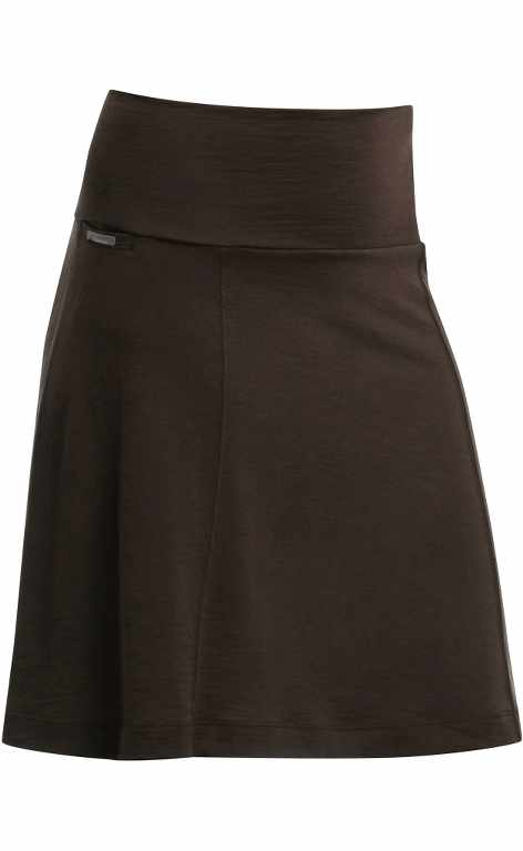 Icebreaker Villa Skirt Chocolate-30