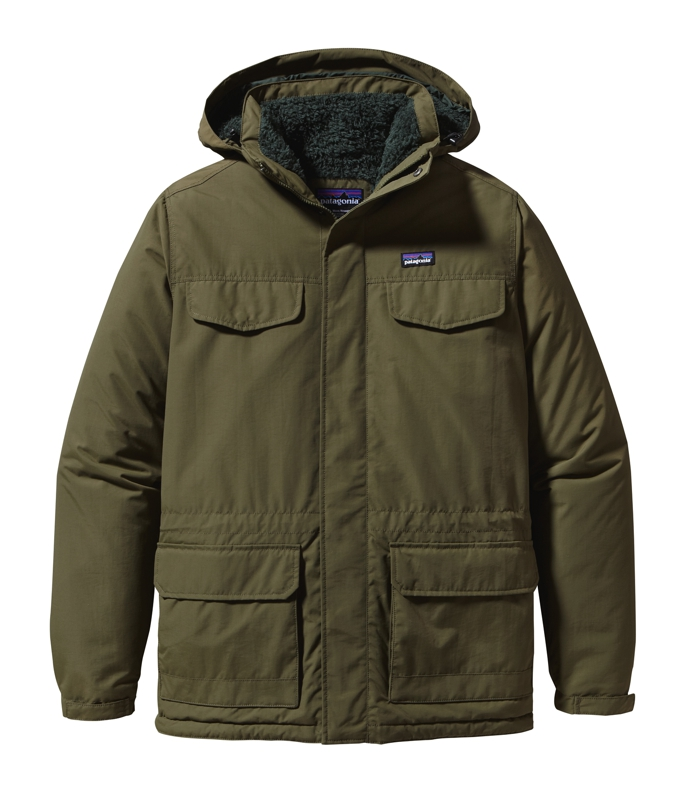 Patagonia - Isthmus Parka Fatigue Green - Isolation & Winter Jackets - L