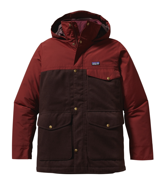 Patagonia - Hybrid Mountain Parka Java Brown - Isolation & Winter Jackets - L