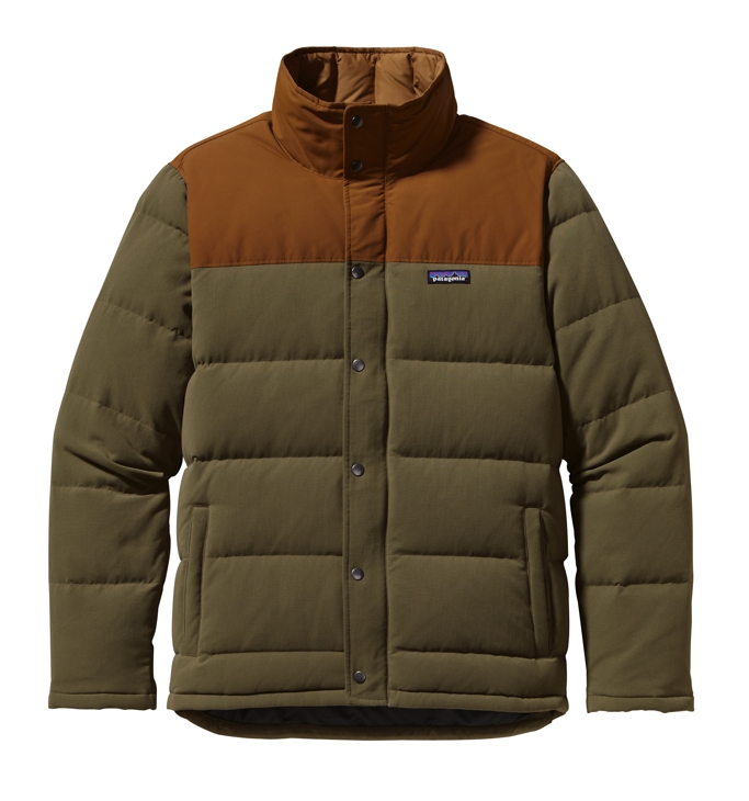 Patagonia - Bivy Down Jacket Fatigue Green - Down Jackets -