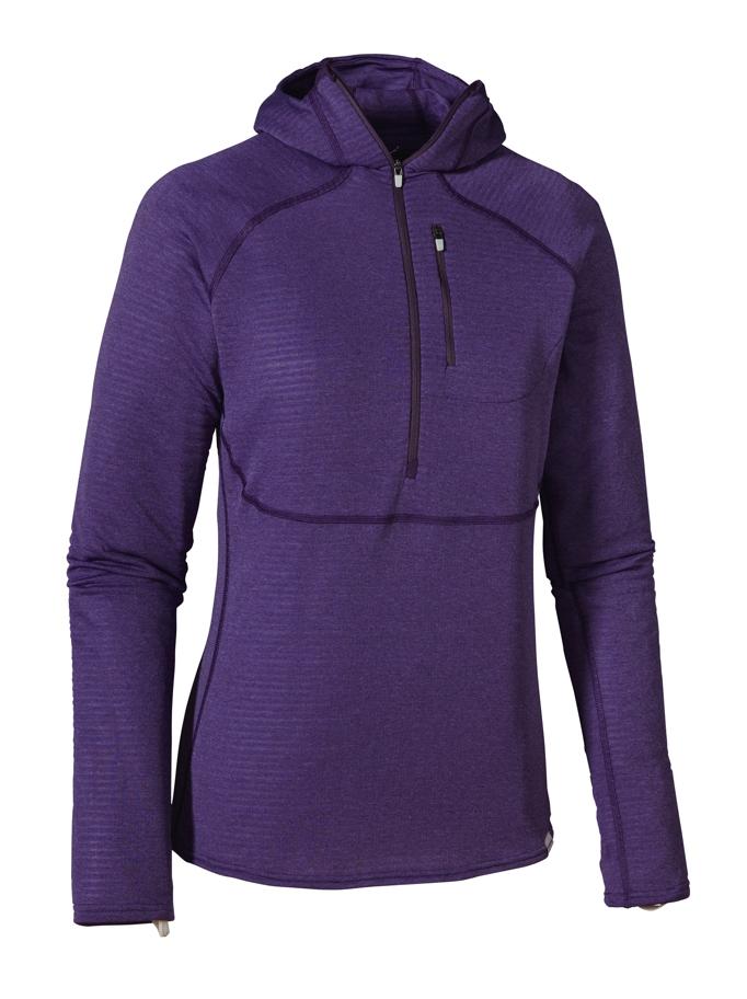 Patagonia - Cap 4 EW 1/4 Zip Hoody Tempest Purple - Violetti - Hoodies - L