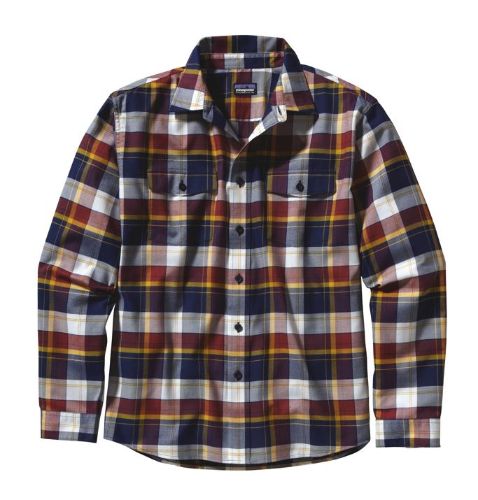 Patagonia L/S Buckshot Shirt DD: Classic Navy-30