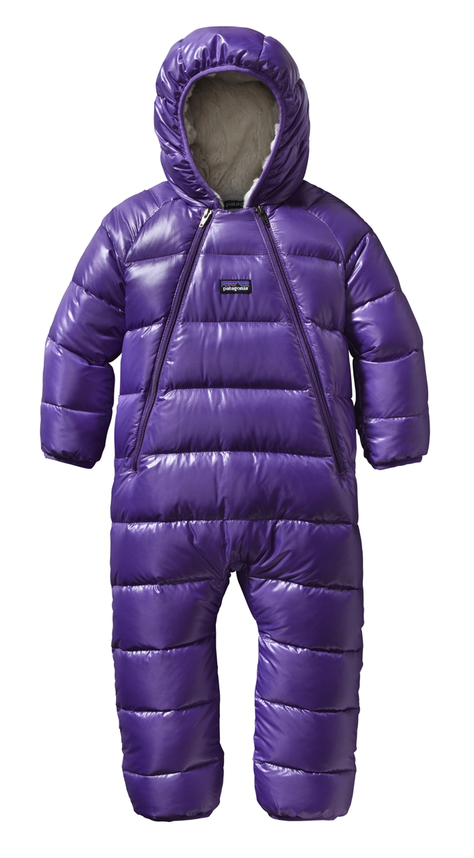 Patagonia - Baby Hi-Loft Down Sweater Bunting Violetti - Isolation & Winter Jackets -