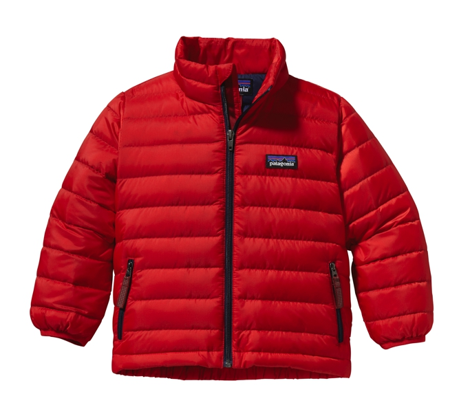 Patagonia - Baby Down Sweater Red Delicious - Down Jackets - 6M