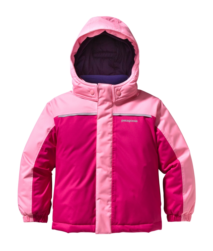 Patagonia - Baby Snow Pile Jacket Rosy Posy Pink - Isolation & Winter Jackets - 4T