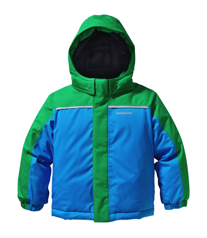 Patagonia - Baby Snow Pile Jacket Tumble Green - Isolation & Winter Jackets -