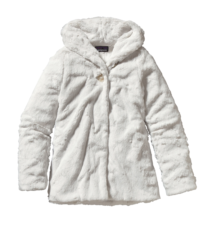 Patagonia - Girls Pelage Jacket Birch White - Isolation & Winter Jackets - L