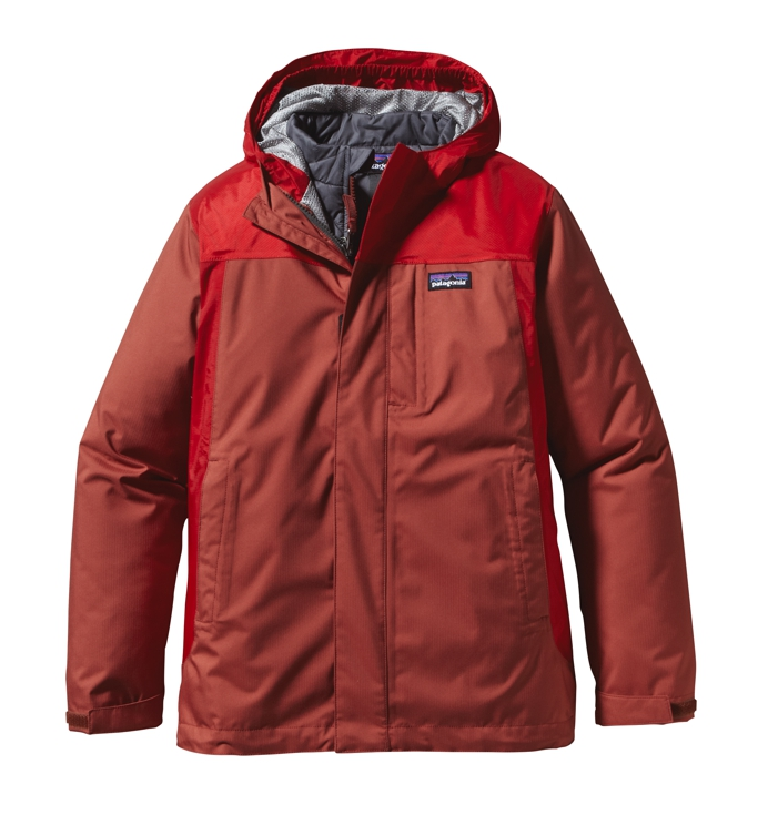 Patagonia - 3-in-1 Jacket Rusted Iron - Isolation & Winter Jackets - M
