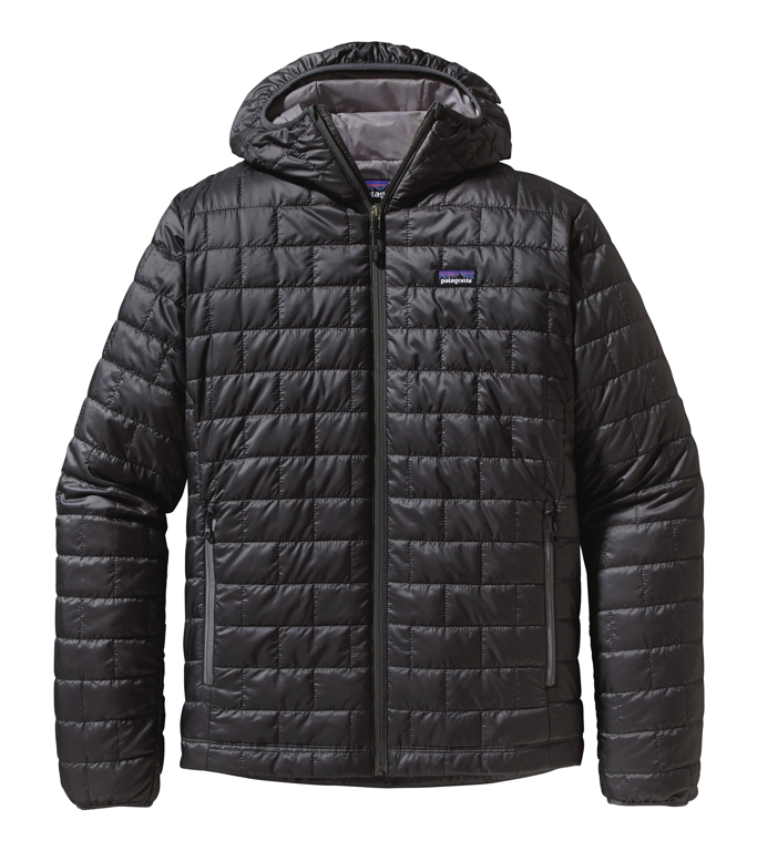 Patagonia - Nano Puff Hoody Forge Gray - Isolation & Winter Jackets -