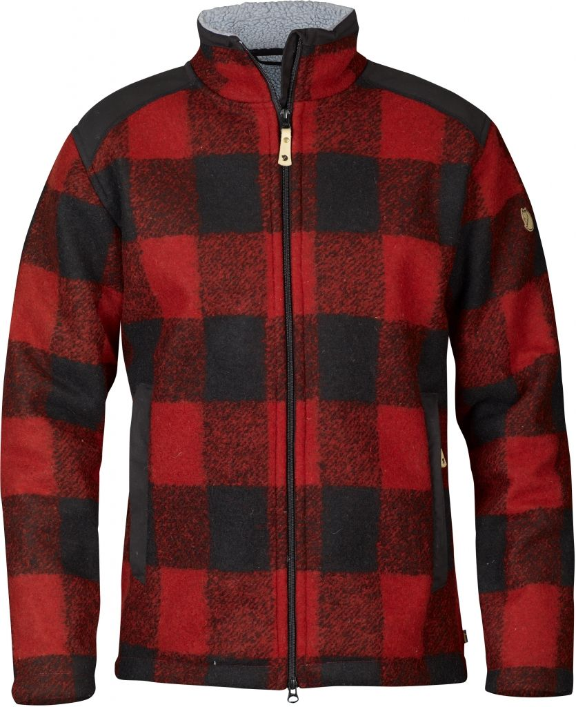 FjallRaven Woodsman Jacket Red-30