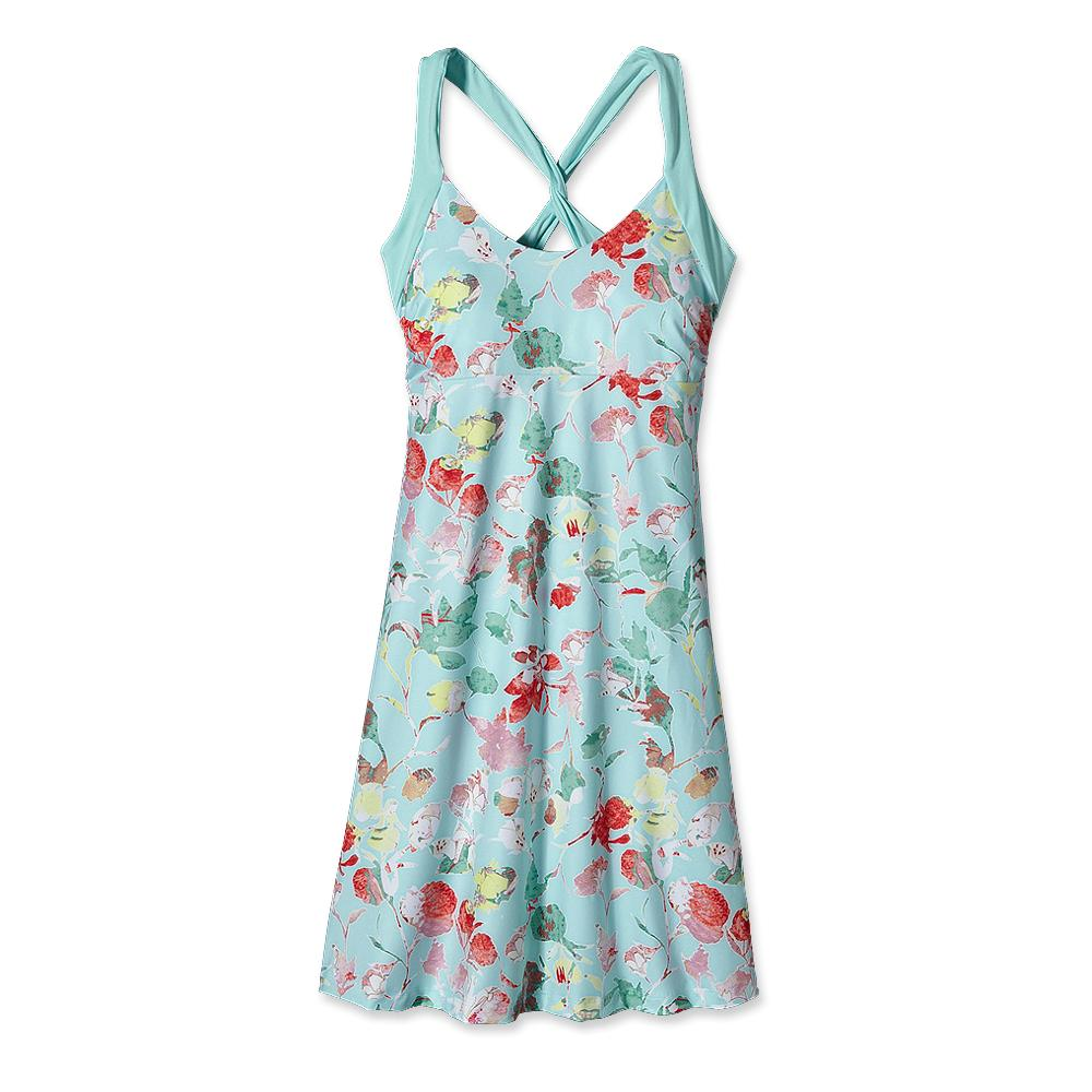 Patagonia Morning Glory Dress Fiery Vines: Polar Blue-30