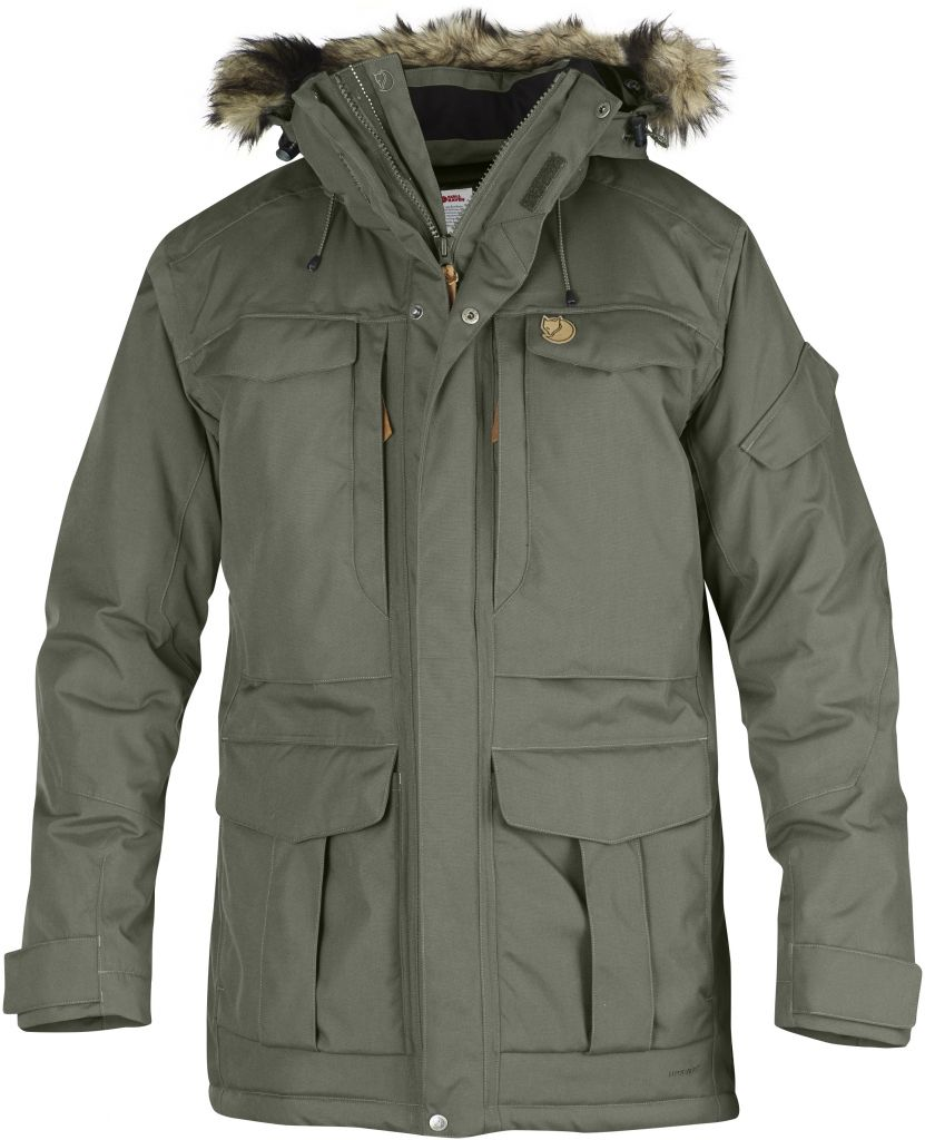 FjallRaven Yupik Parka Mountain Grey-30