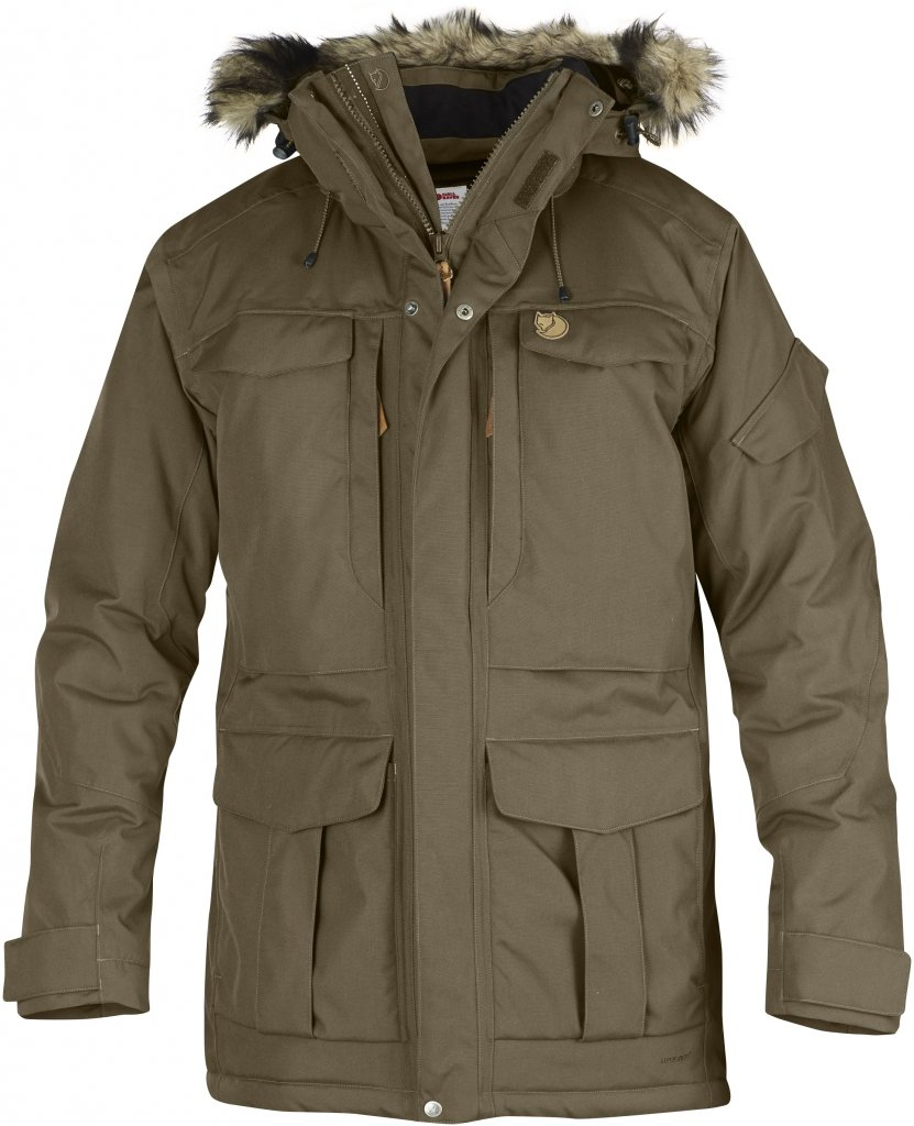 FjallRaven - Yupik Parka Taupe - Isolation & Winter Jackets - XL