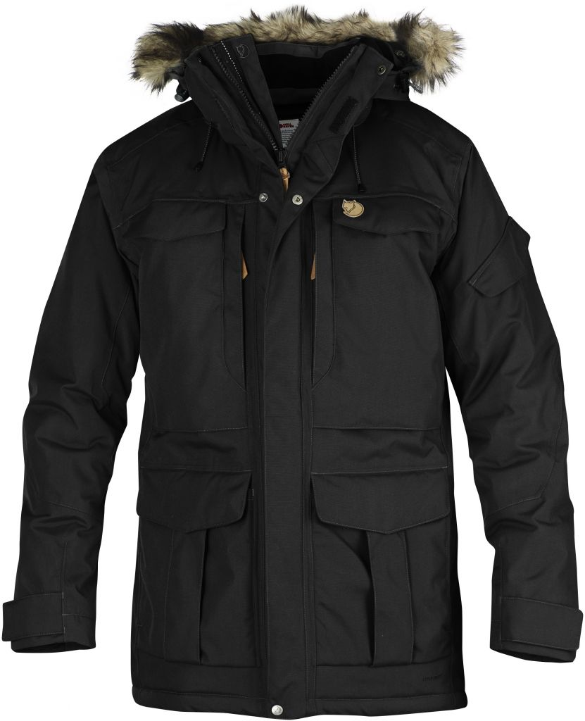 FjallRaven - Yupik Parka Black - Isolation & Winter Jackets - L